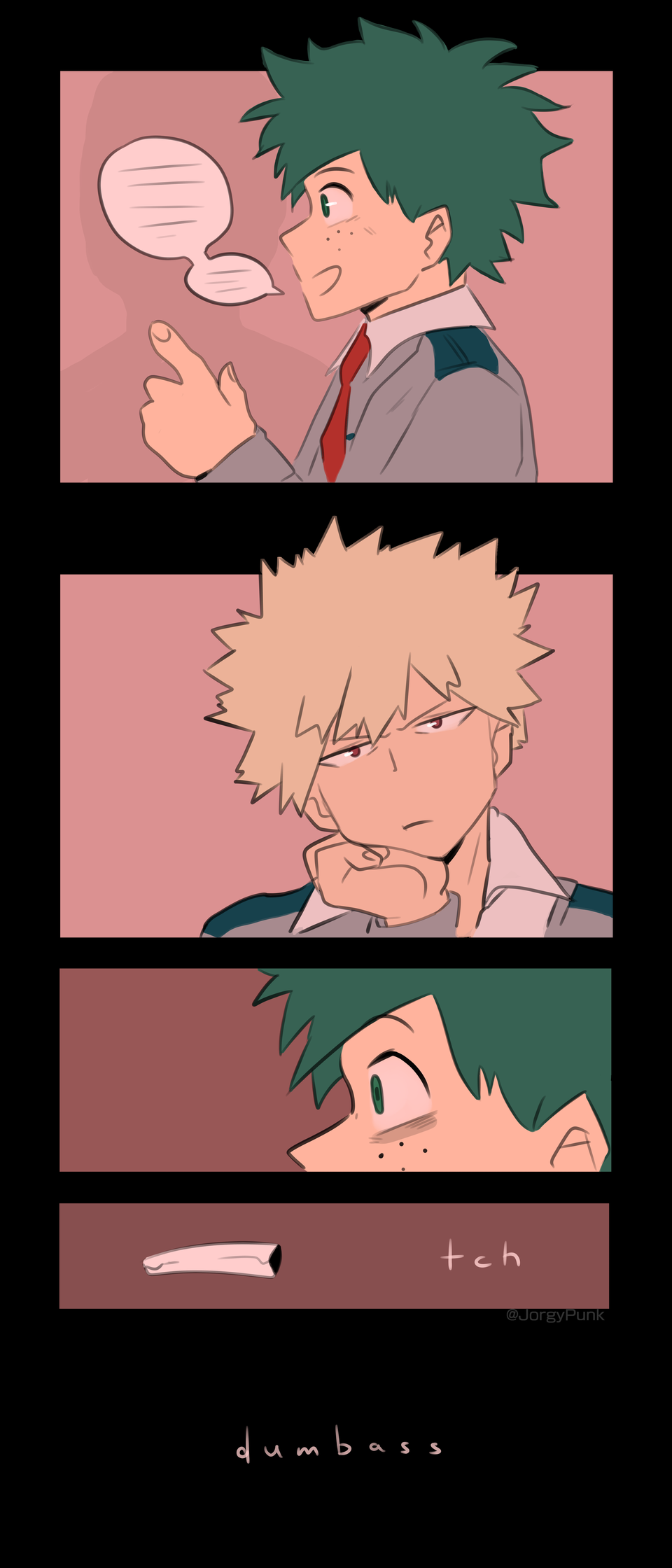 bakudeku comic