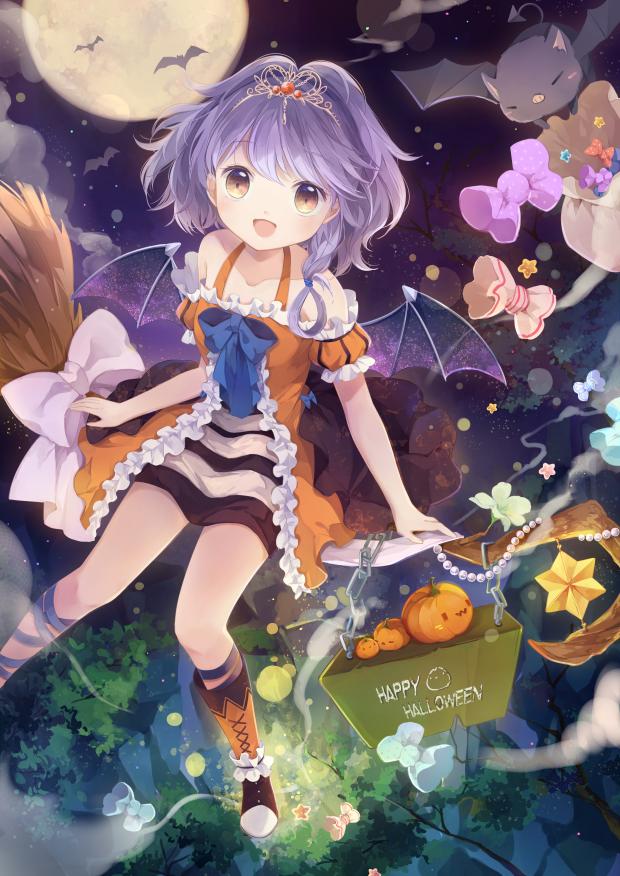 HAPPY HALLOWEEN Illust of 雲小栗 Oct.2019Contest original Halloween