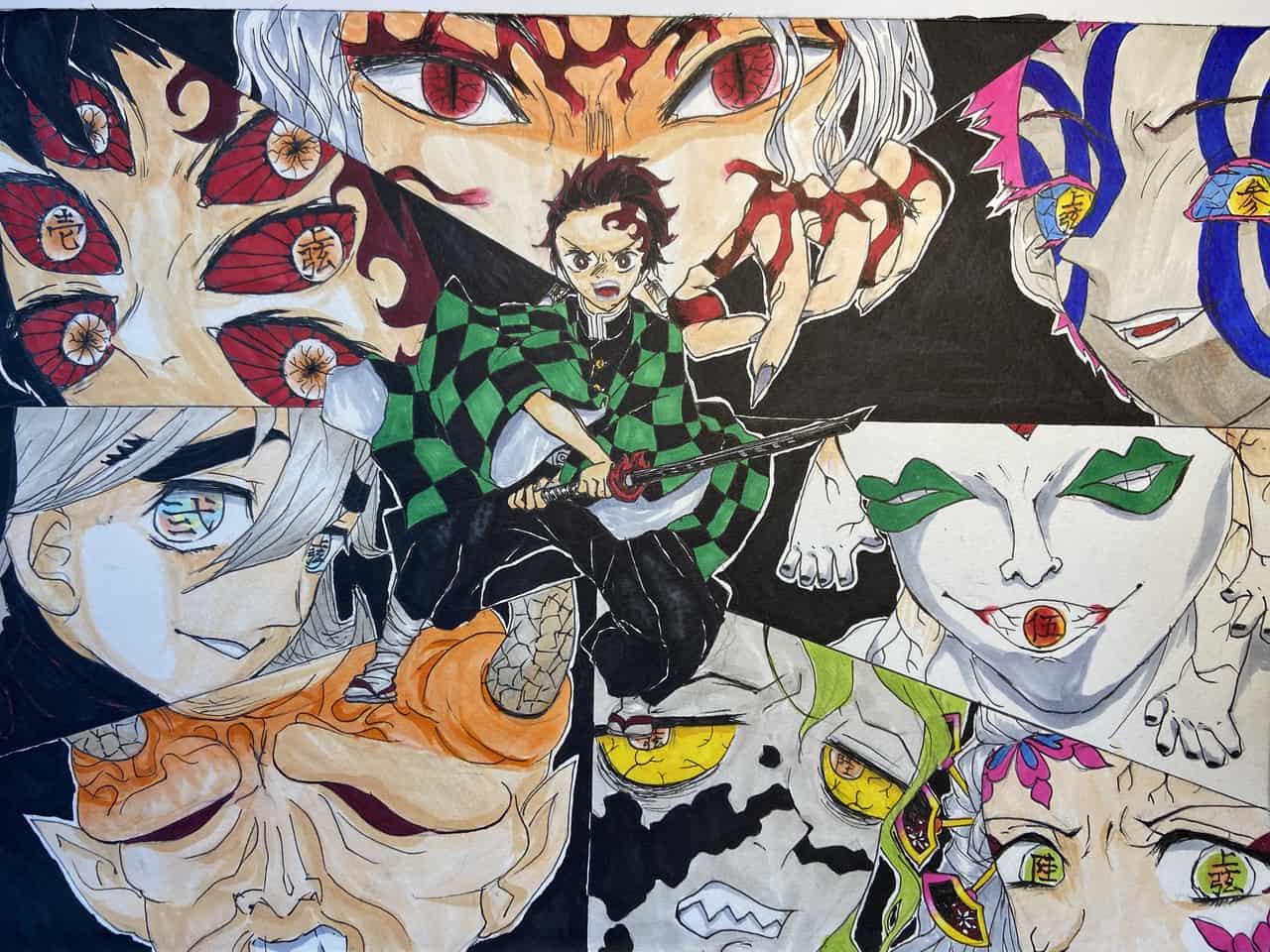 魔の手が迫る Illust of やひ乃 DemonSlayerFanartContest