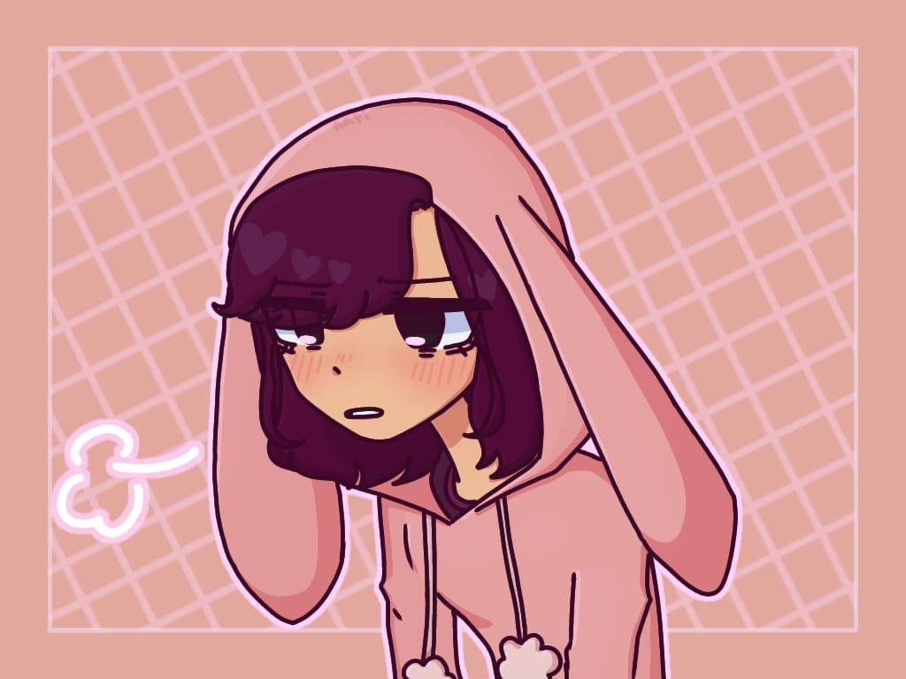 bun girl Illust of nice.   Nati aaa bunnygirl