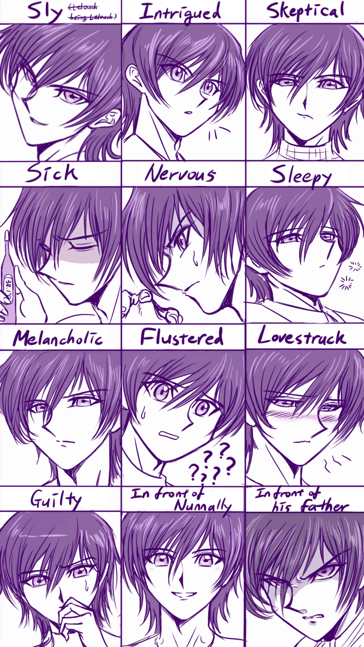 Expression Meme with Lelouch! :)