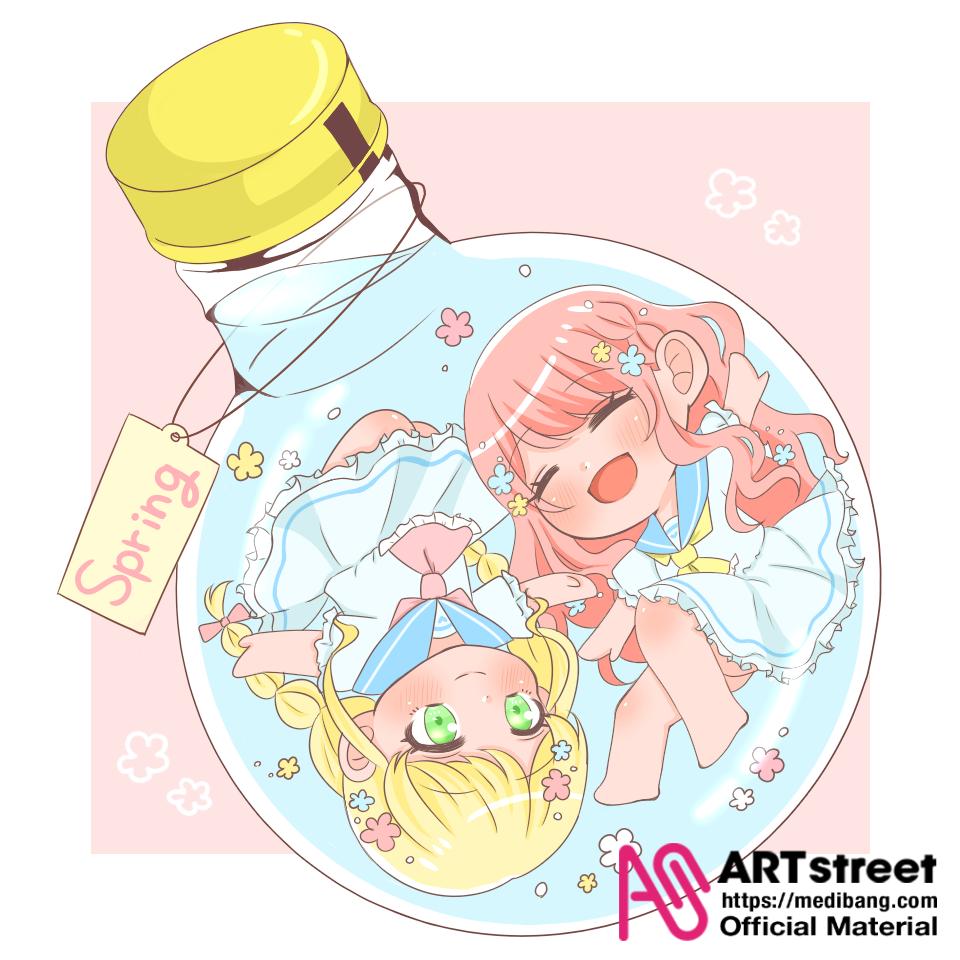 ❀ 春 の 訪 れ ❀ Illust of ゆぴ tracedrawing fairy girl Trace&Draw【Official】 kawaii 春 flower