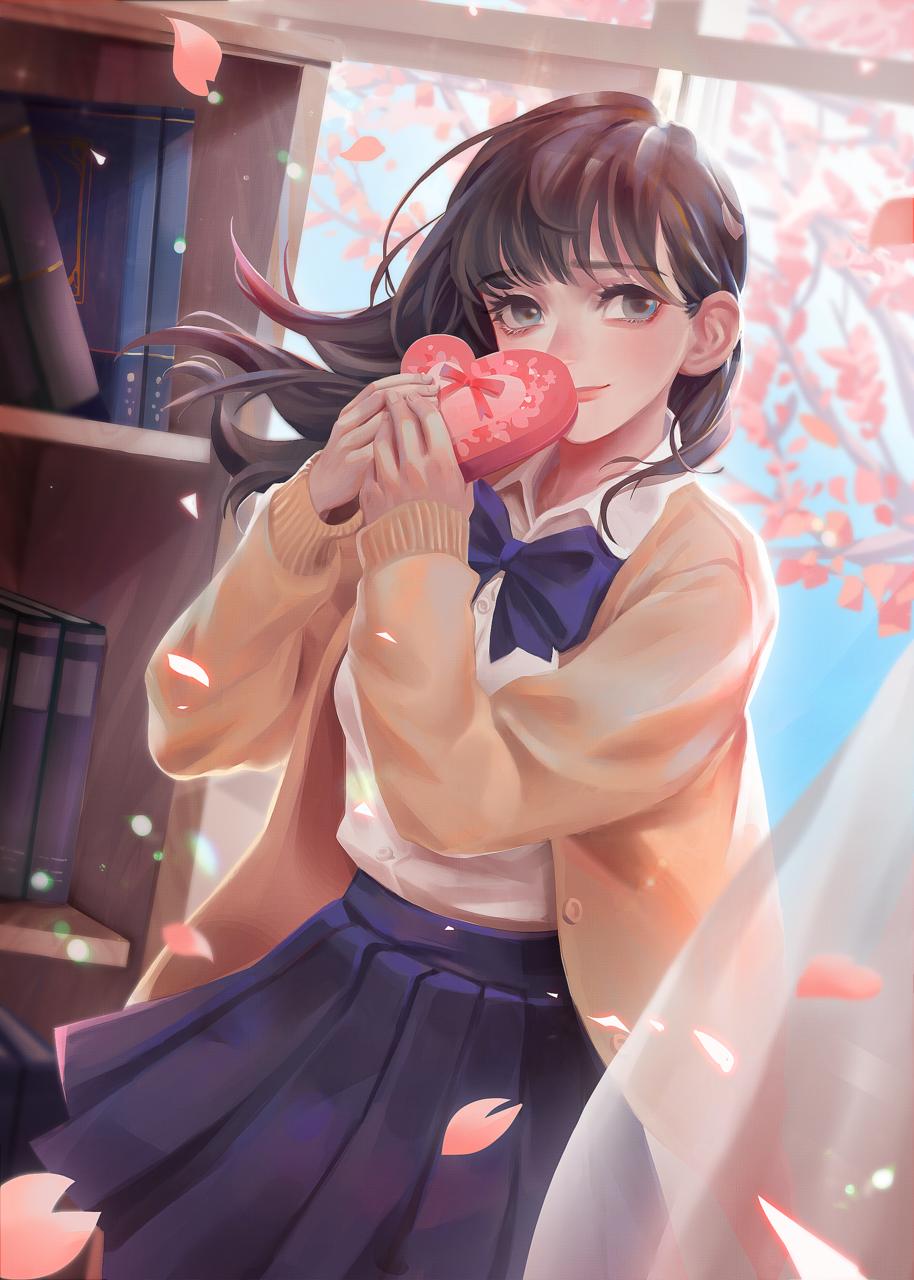 喜歡你 Illust of +7 Feb2020:VDAY 情人節 girl original