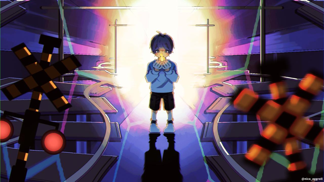 灯火 Illust of eggroll☆ ボカロ曲 illustration ibispaint original