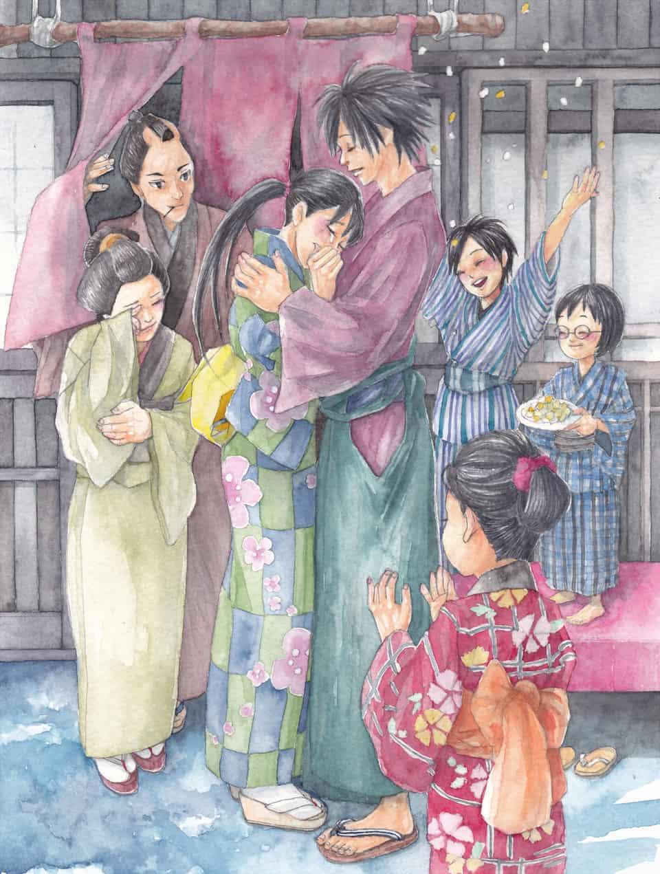 大安 Illust of フジカワ July2020_Contest:Anniversary