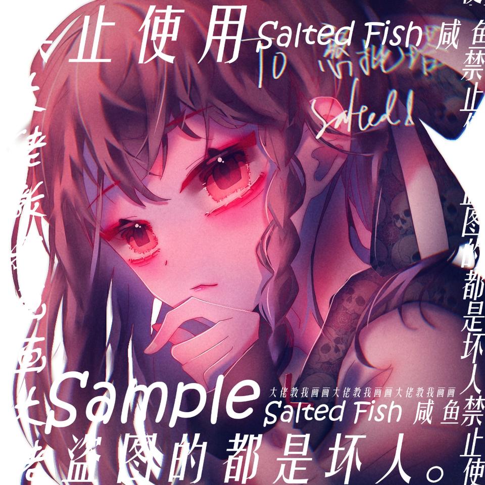 憨批塔的 Illust of 丶咸鱼jiang medibangpaint 女生