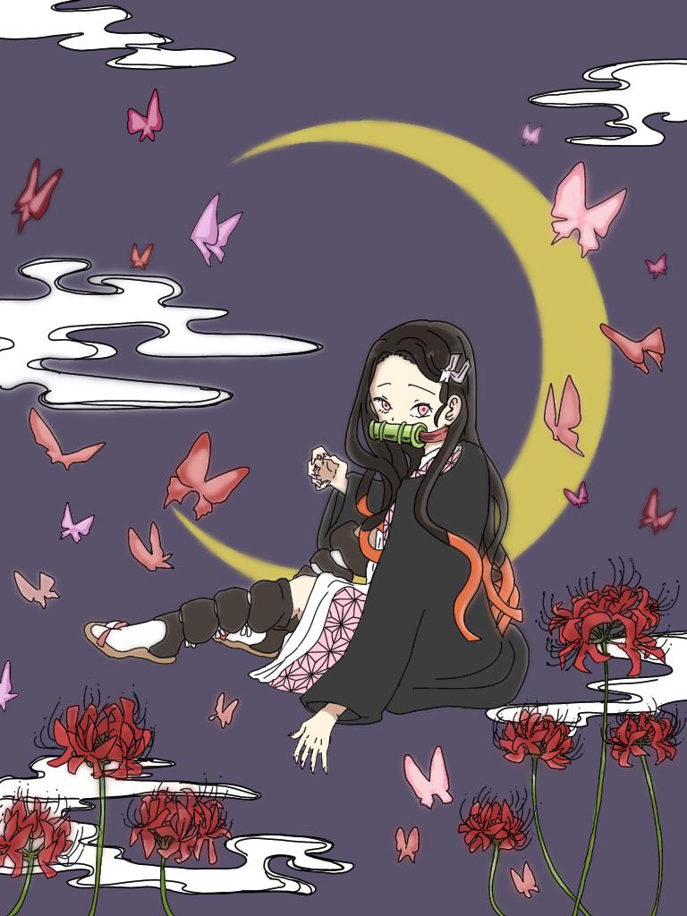 運命を照らして Illust of 永井灯久 DemonSlayerFanartContest medibangpaint KamadoNezuko 竈門禰󠄀豆子 KimetsunoYaiba
