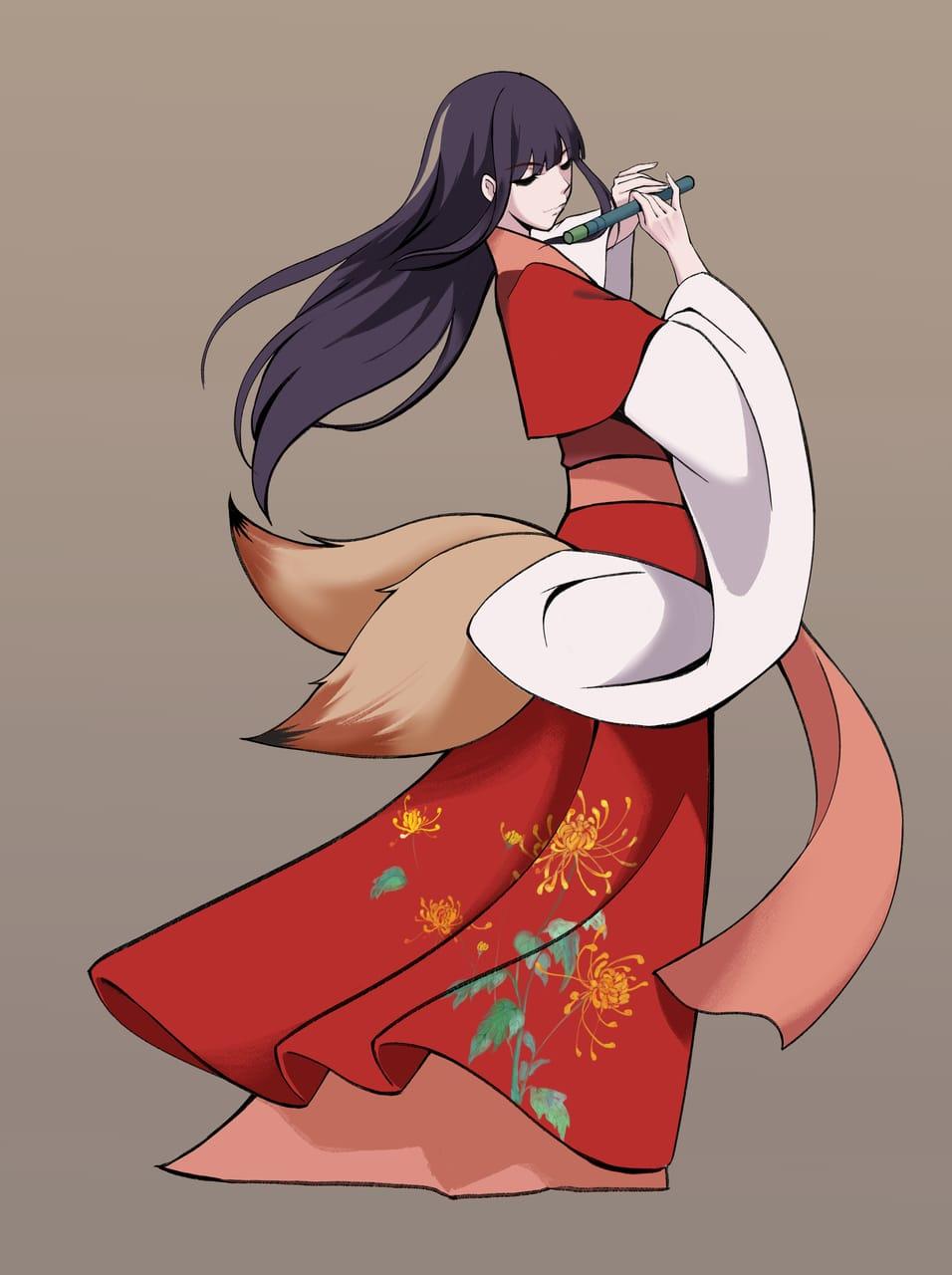 狐妖 Illust of 星期音二 January2021_Contest:OC girl 一次创作 original