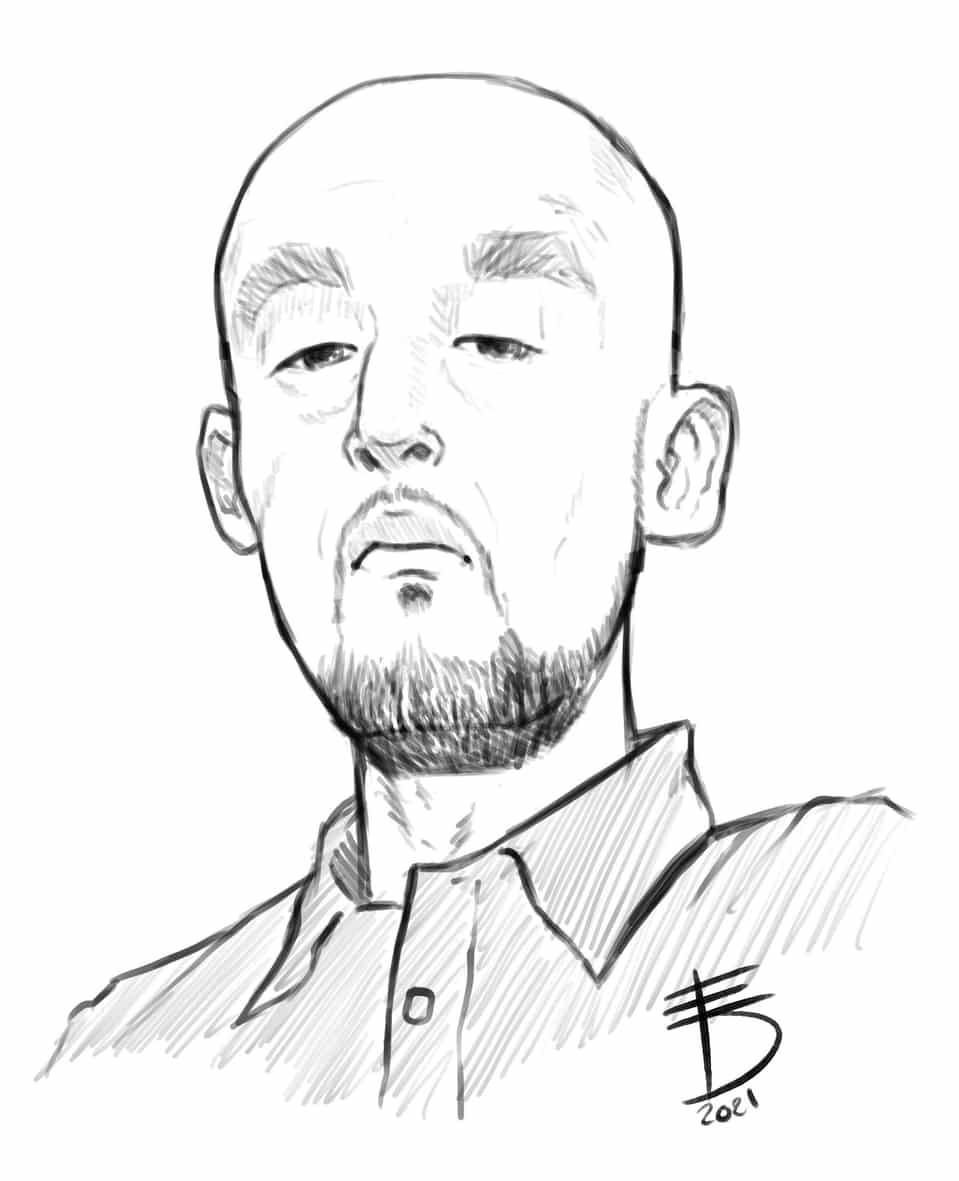 Takeshi Obata Sensei  Illust of Derwelt art DEATHNOTE drawing Artwork medibang anime illustration mangaka portrait manga