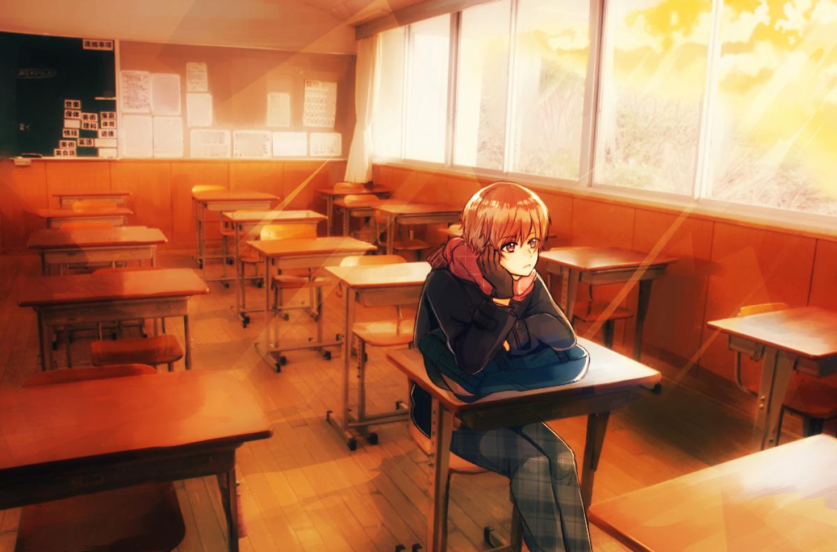ゆうぐれ Illust of ぽち original boy