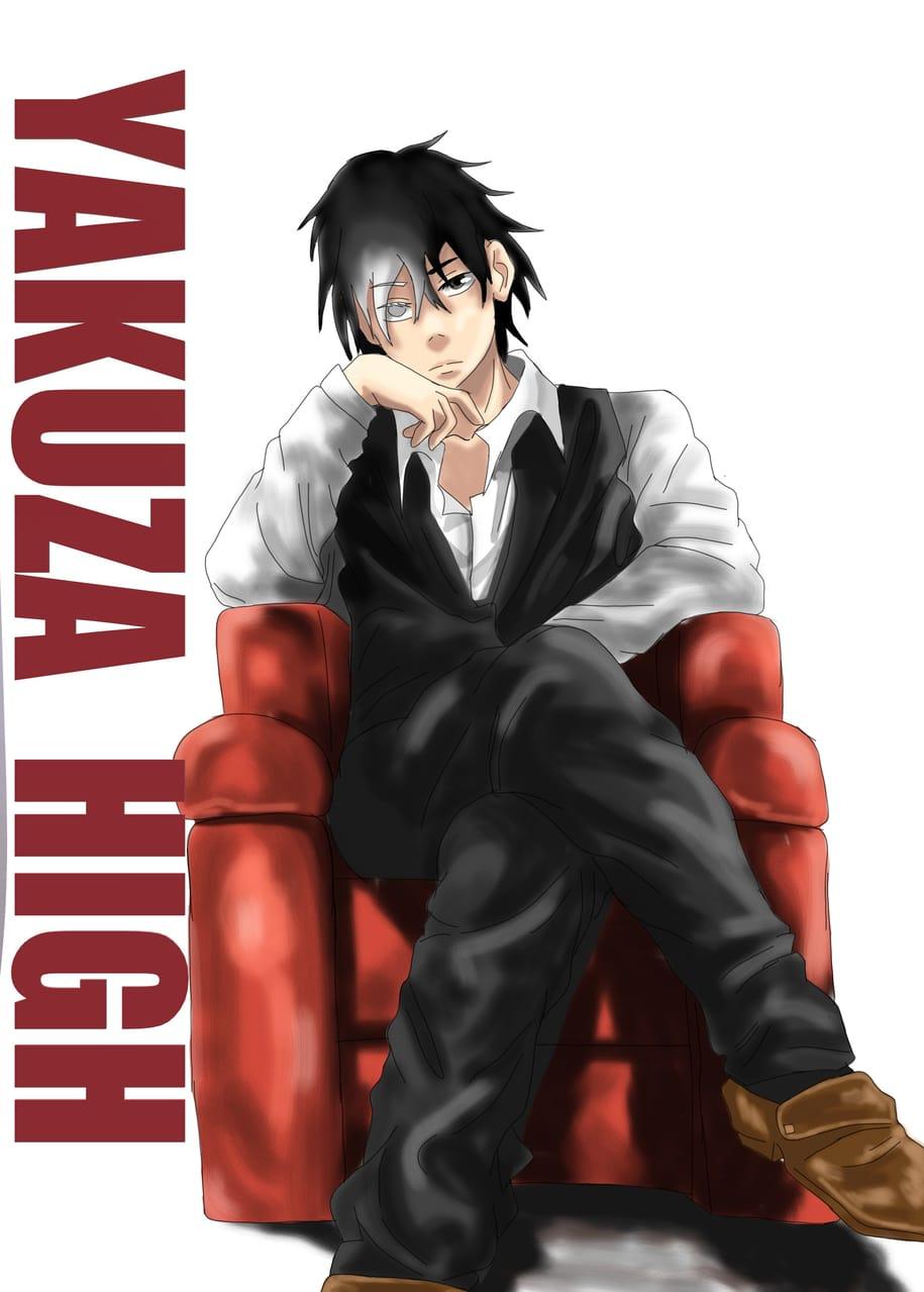 Big boss 2.  Illust of Yuri Black Zero medibangpaint painting Boss handsome illustration Cover