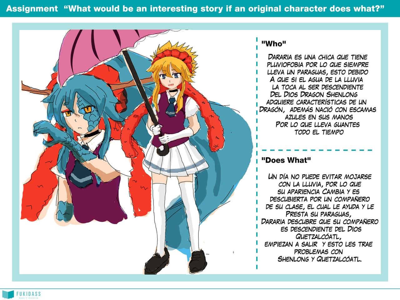 Real Manga School-Lesson 1-Dararia Illust of Ren_DJ RealMangaSchool