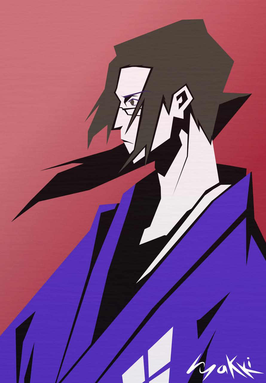 Moderate your self-importance Illust of hyakki Jin samurai SamuraiChamploo