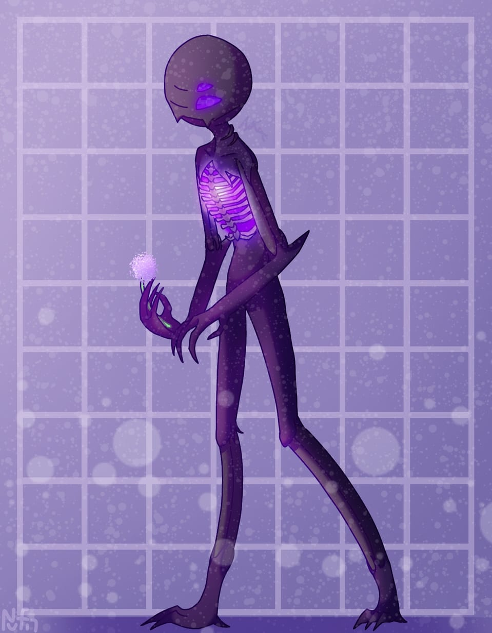 enderman :D (design idea in desc) Illust of NufinThing Minecraft enderman