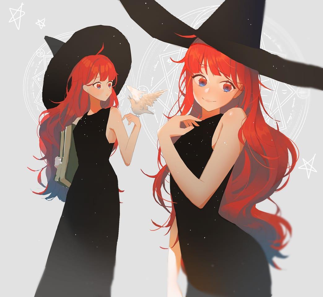 魔女樣 Illust of 阿miba September2021_Girl 女の子かわいい