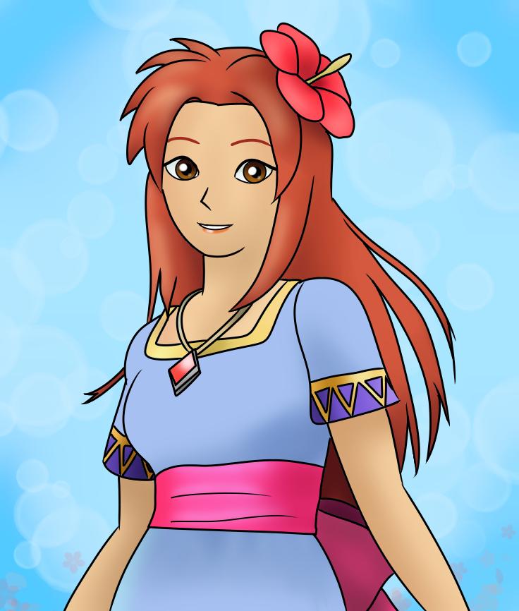 Hyrule warriors  Illust of ayna_unihog medibangpaint Zelda Marin Warriors Hyrule