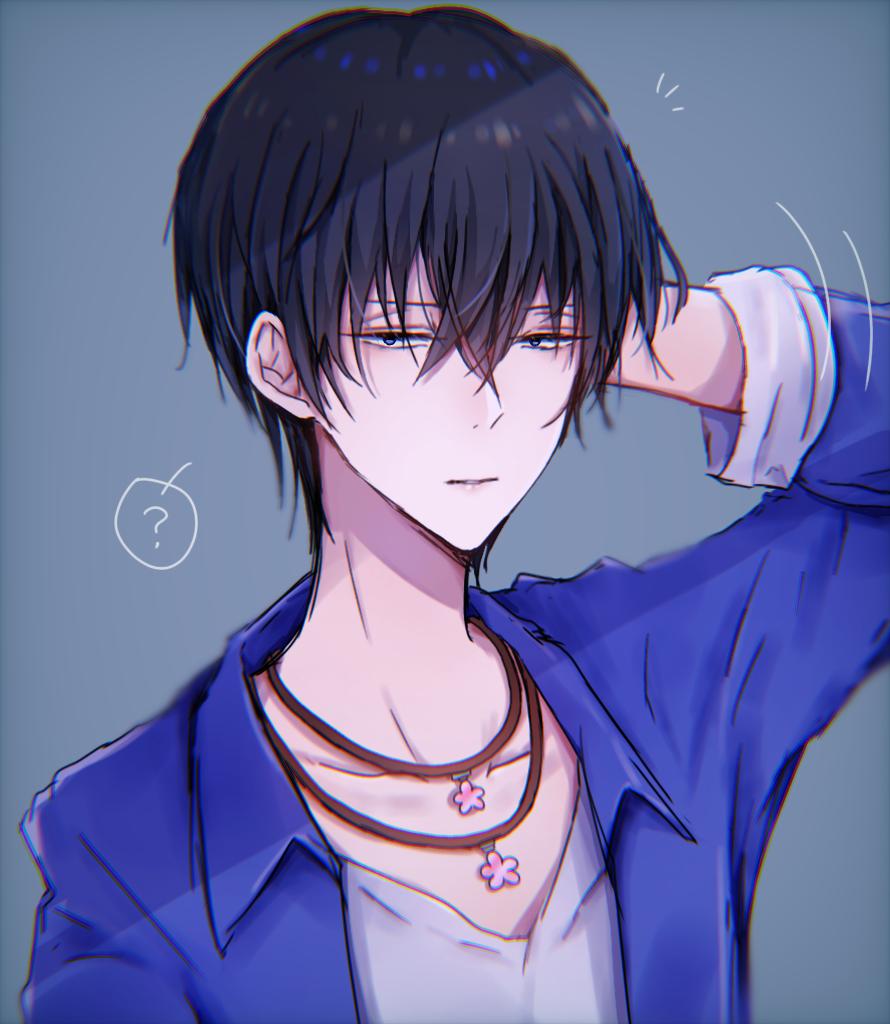 本当の髪型 Illust of ペニーパニー original boy