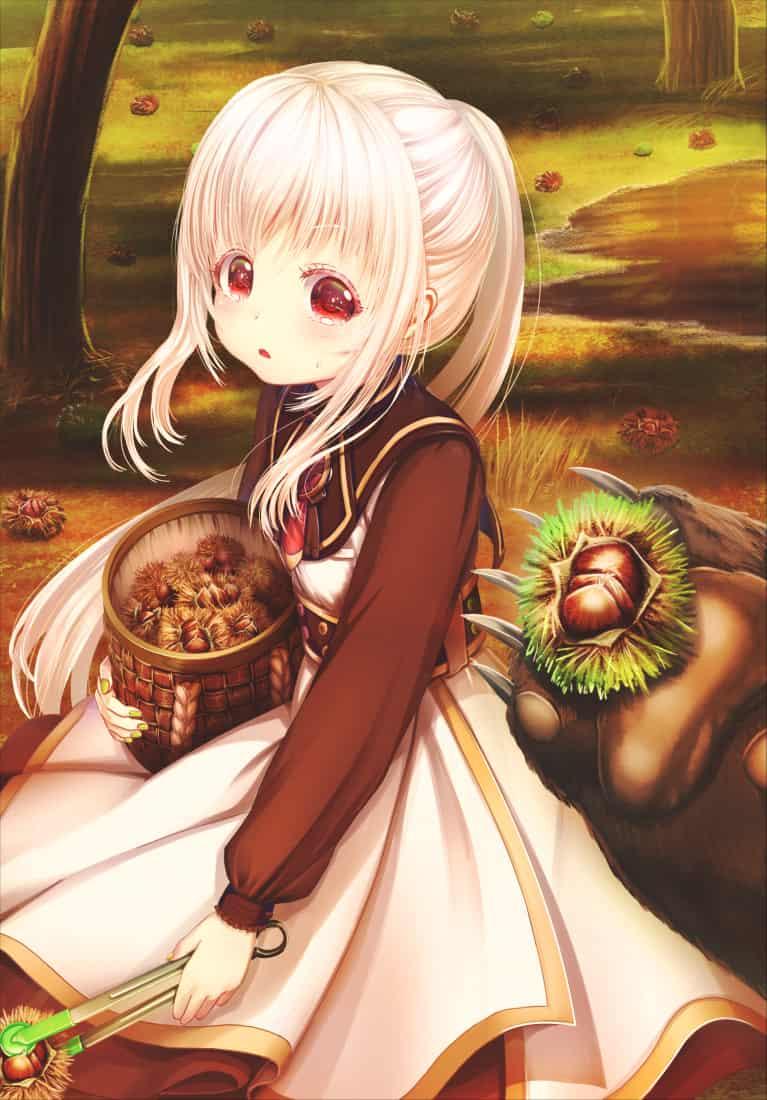 森の熊さん Illust of あいうあぼ autumn original 栗 熊