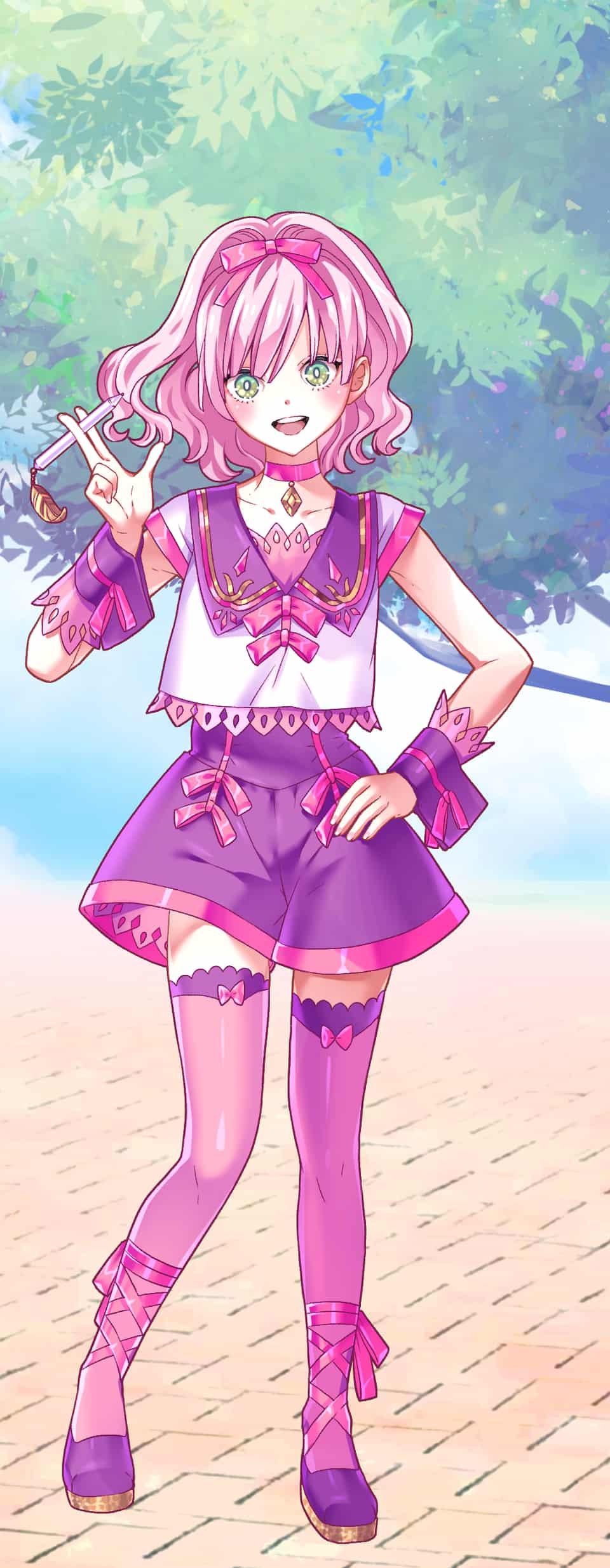 ピンクちゃん Illust of タロコ PASTEL_SKETCH2020 pink cute