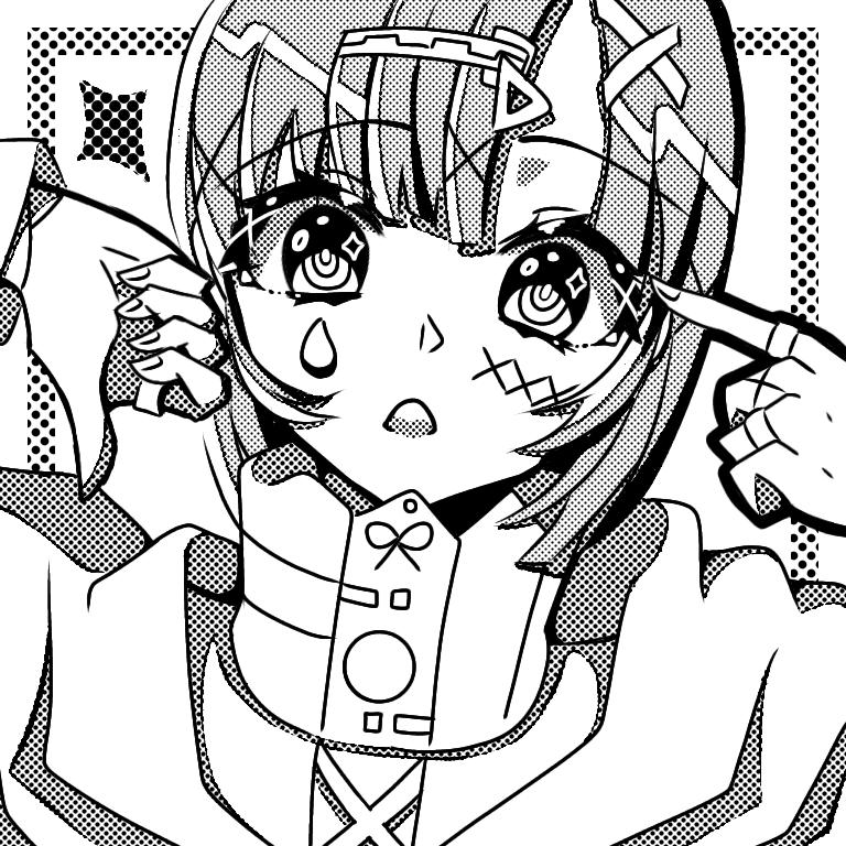Chara : L O S E R ( No, Not you my friend !) Illust of UNDERDOGS. medibangpaint girl undertale anime Chara