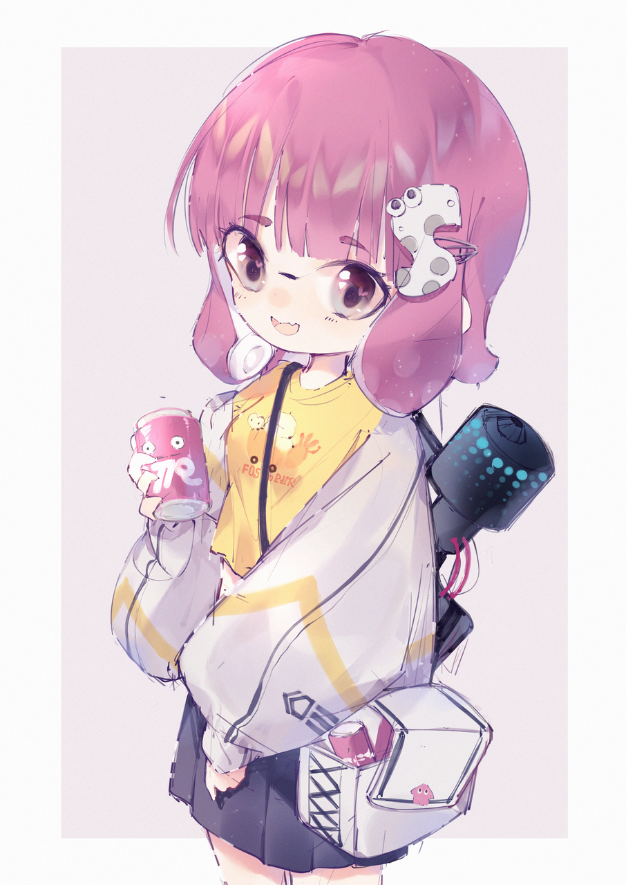 无题 Illust of 睡眠Eru Girls girl 乌贼 Splatoon