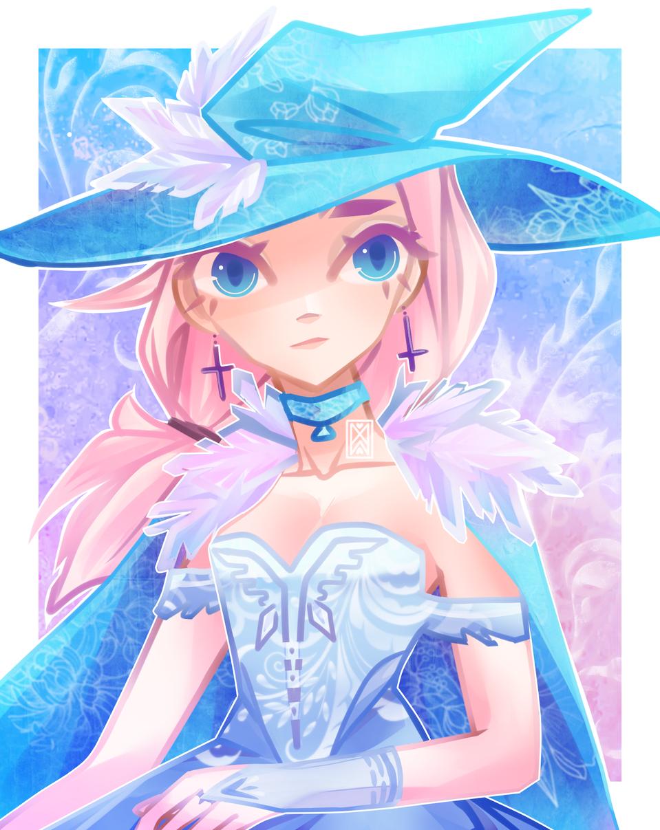 Vanellie  Illust of Timbitum2.0 medibangpaint blue witch girl