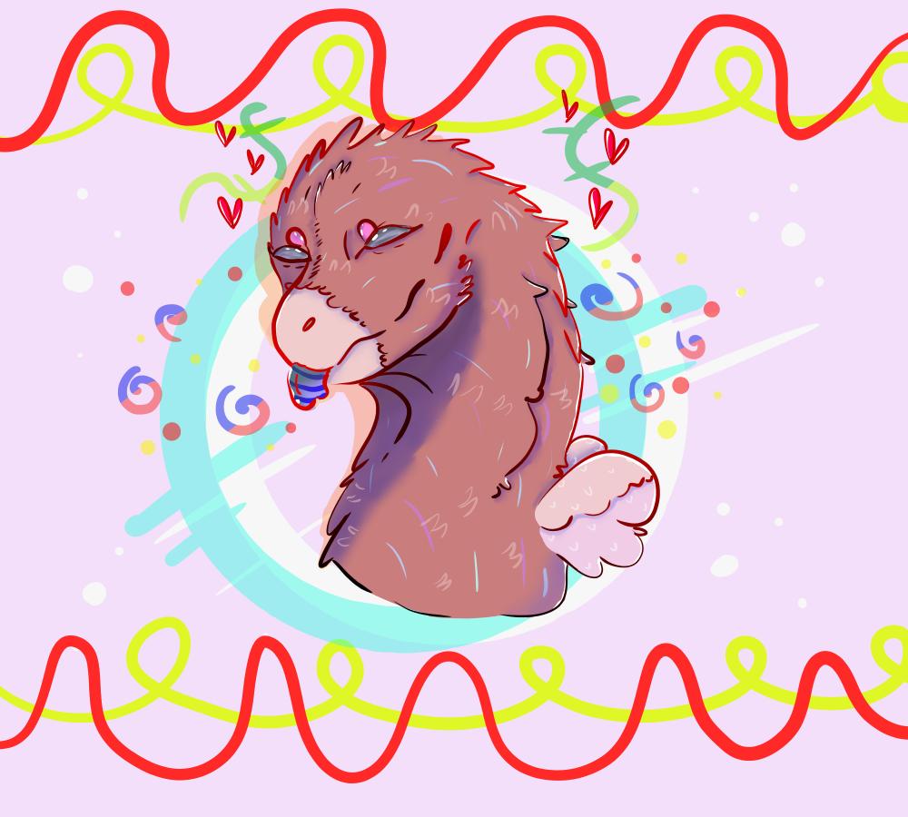 birb doodle :P Illust of ✨random pollito✨ medibangpaint