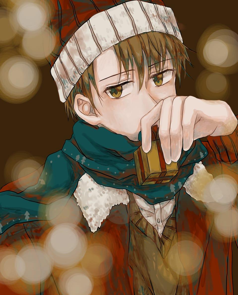 聖誕老人 Illust of 千日 December2020_Contest:Santa MerryChristmas マフラー 絵描きさんと繋がりたい メリークリスマス