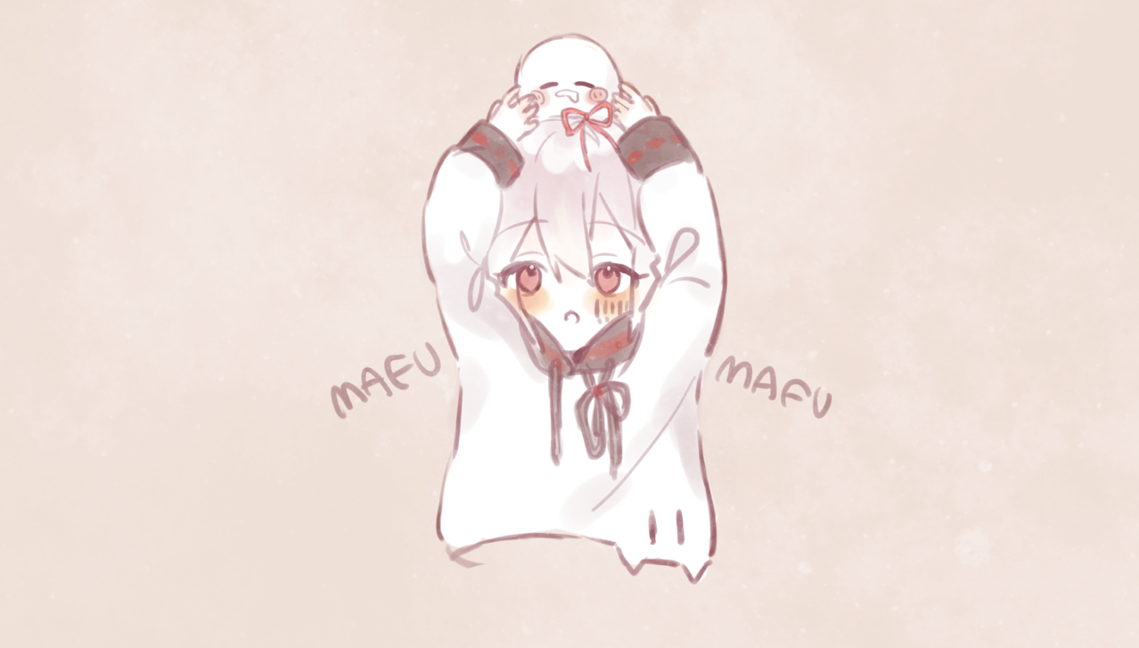 らくがき Illust of みぞれ doodle singer chibi illustration mafumafu