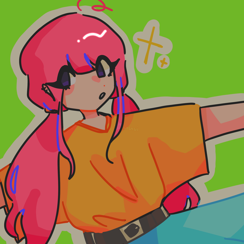 ✨ Illust of yuuvi pinkhair originalcharacters oc animegirl brightcolors