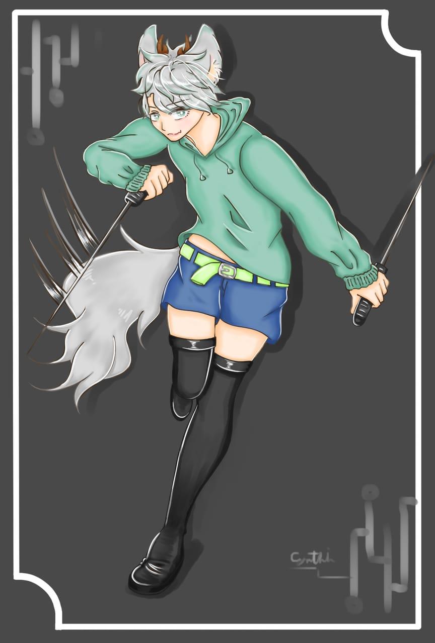 practice Illust of 亞 art Artwork illustration boy manga anime doodle oc medibangpaint original
