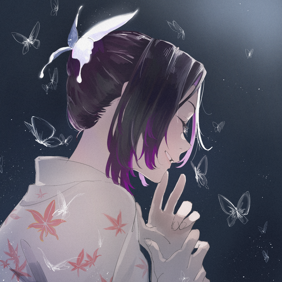 Illust of かのsan medibangpaint KimetsunoYaiba kimono KochouShinobu