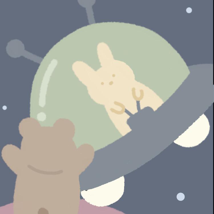 熊熊和兔兔日常