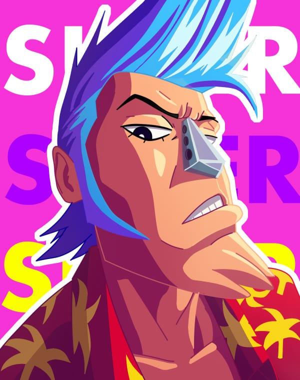 Franky-SUPER!! Illust of xavisketches ONEPIECE onepiecefanart