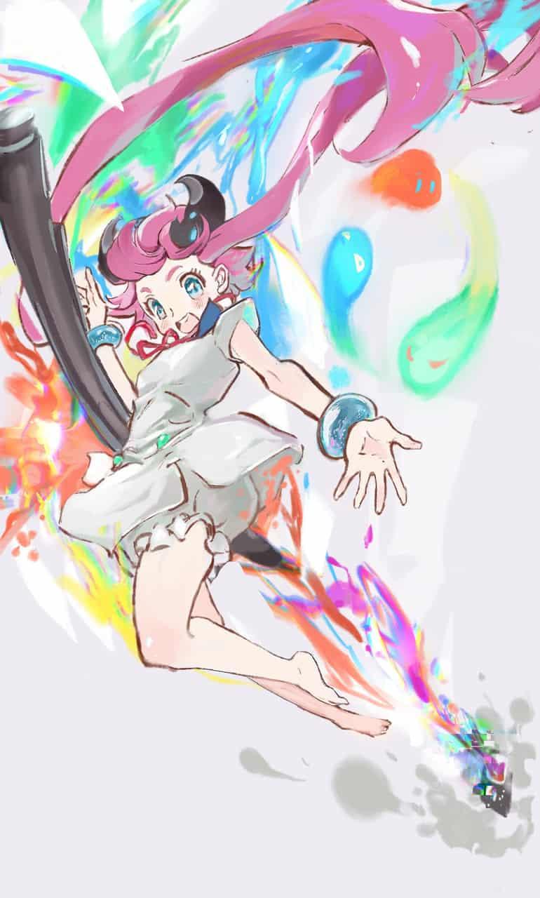 一起来吧! Illust of Kawazoe Kiko MediBang_General_Election General_Election_Medi-chan colorful illustration medichan