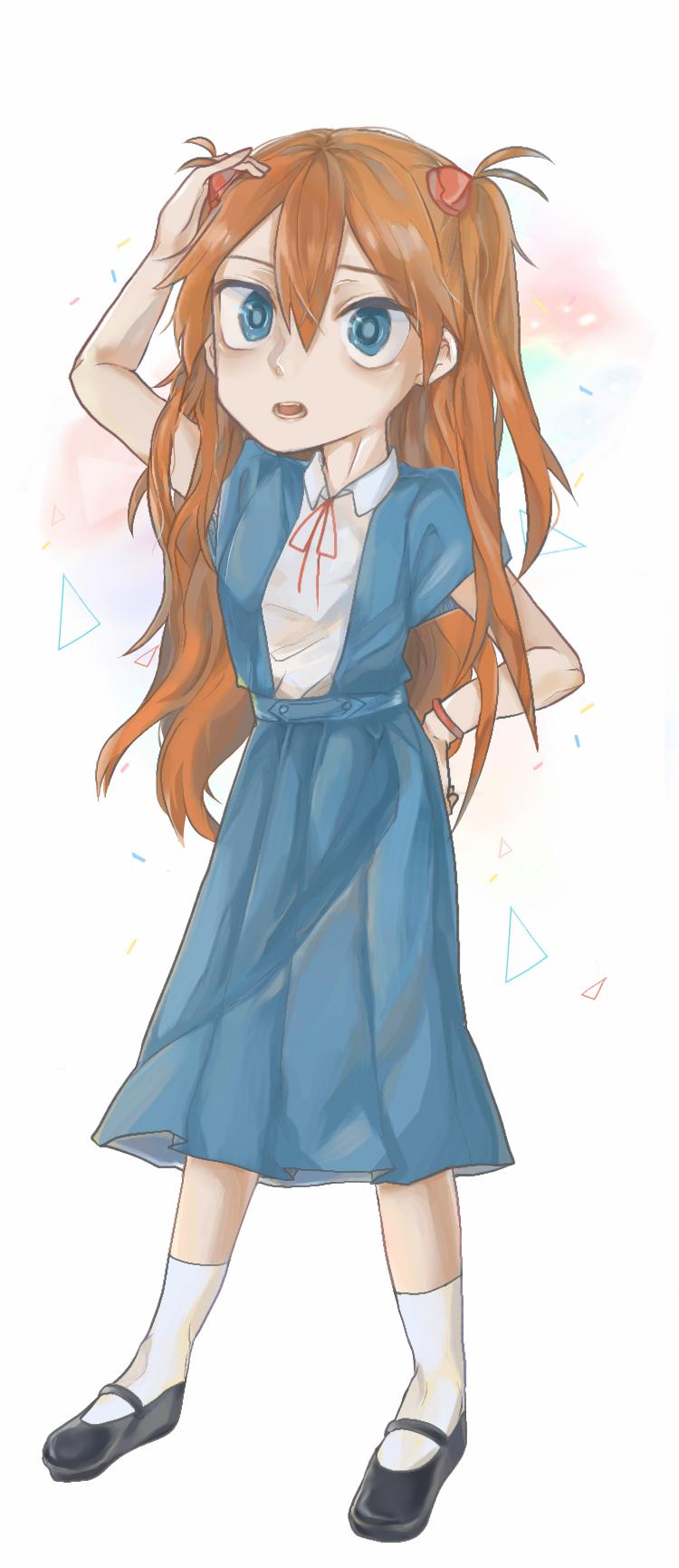 アスカ🌷 Illust of Gamae kyoto-illust2019 medibangpaint エヴァンゲリヲン girl EVANGELION Eva アスカ 惣流・アスカ・ラングレー Asuka