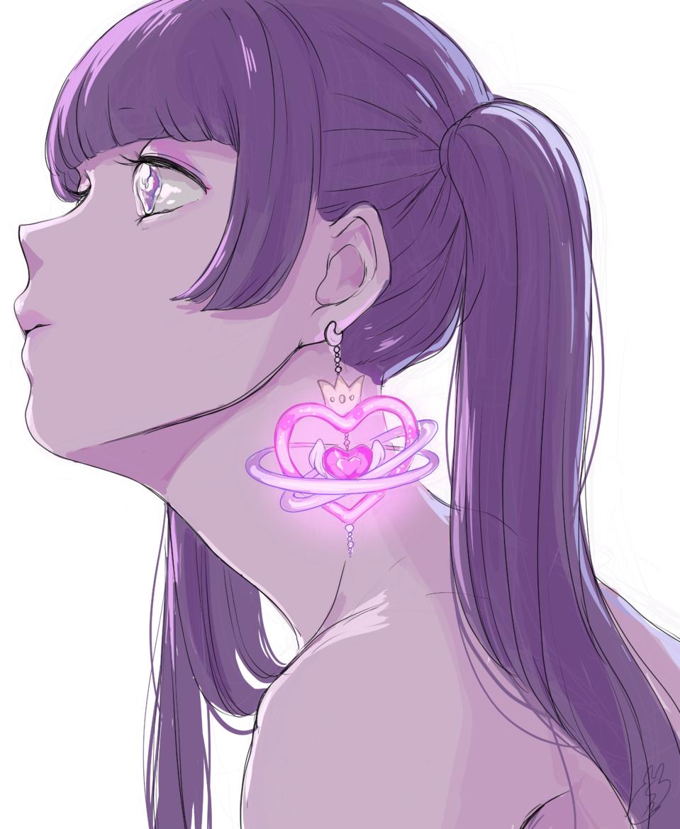 君のために Illust of しずか illustration 魔法少女 original girl ゆめかわいい