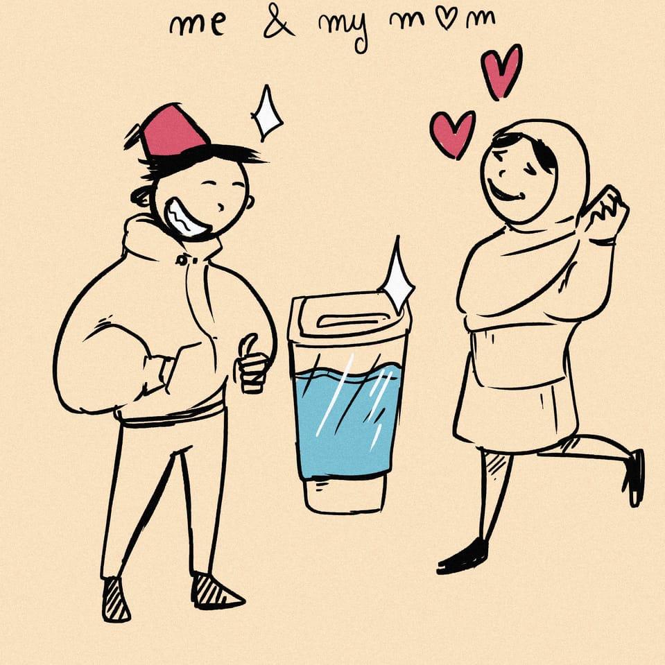 For my mom Illust of taha sabry giftyouwant2020:50000YenGift giftyouwant2020 Christmas