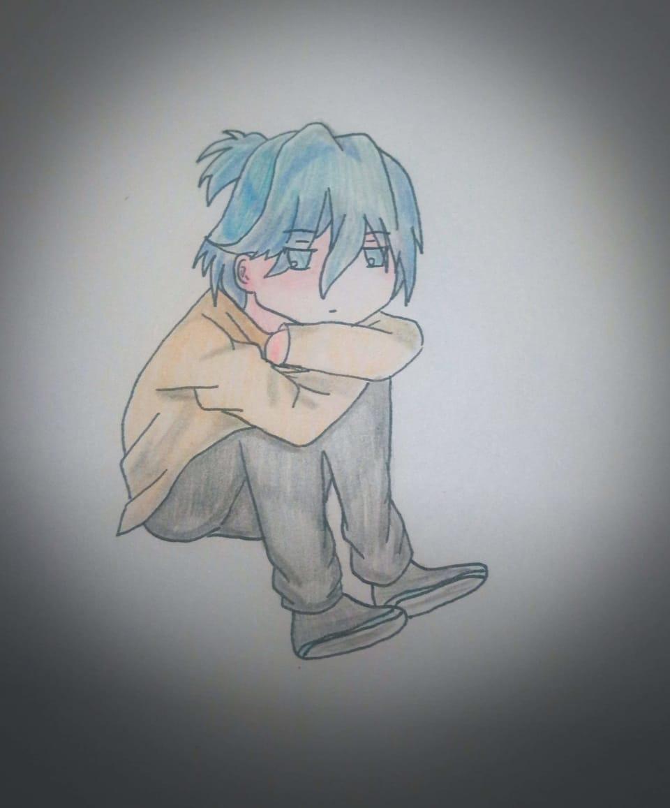 全職高手 鄭軒(Q版 Illust of 御鬼 AnalogDrawing