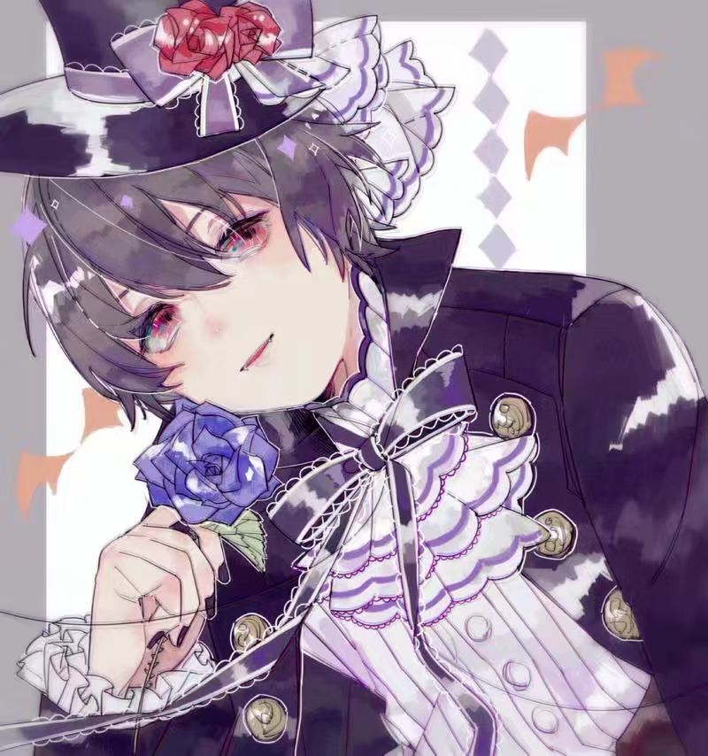Lord Illust of 咕咕咕 medibangpaint gothic