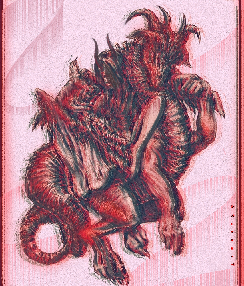 Astaroth  Illust of Ar:Zee:T medibangpaint dark demon art