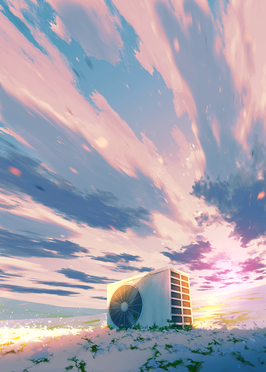 R.I.P Illust of faPka illustration scenery