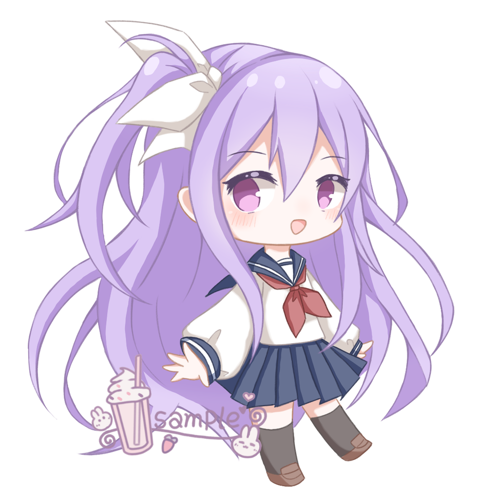 我画,我画.._:(´_`」 ∠):_ … Illust of 莫丸——!XD medibangpaint original girl sailor_uniform oc chibi doodle animegirl