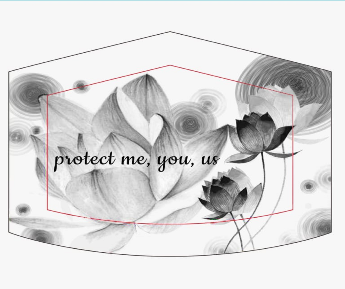 Protect Me, You, and Us Illust of Miss Prima MaskDesignContest