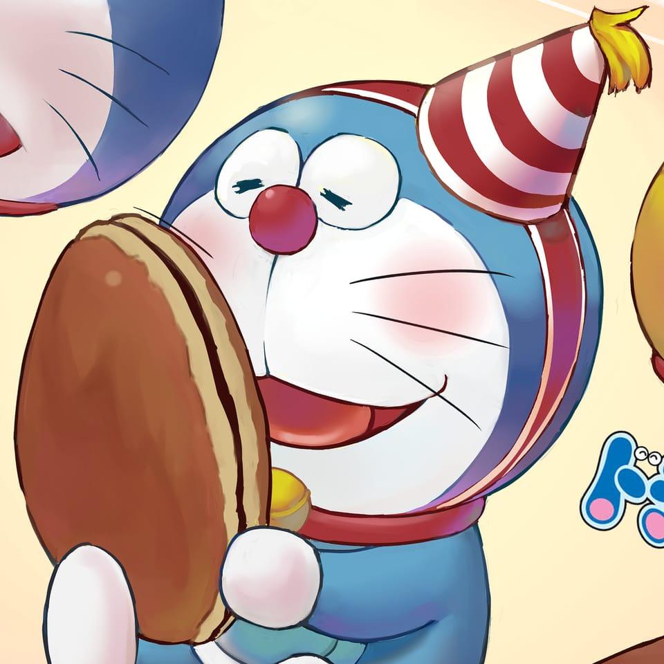 【Doraemon】誕生日おめでとう! Illust of SzeMinWong cute illustration 立繪 Doraemon art digitalpainting