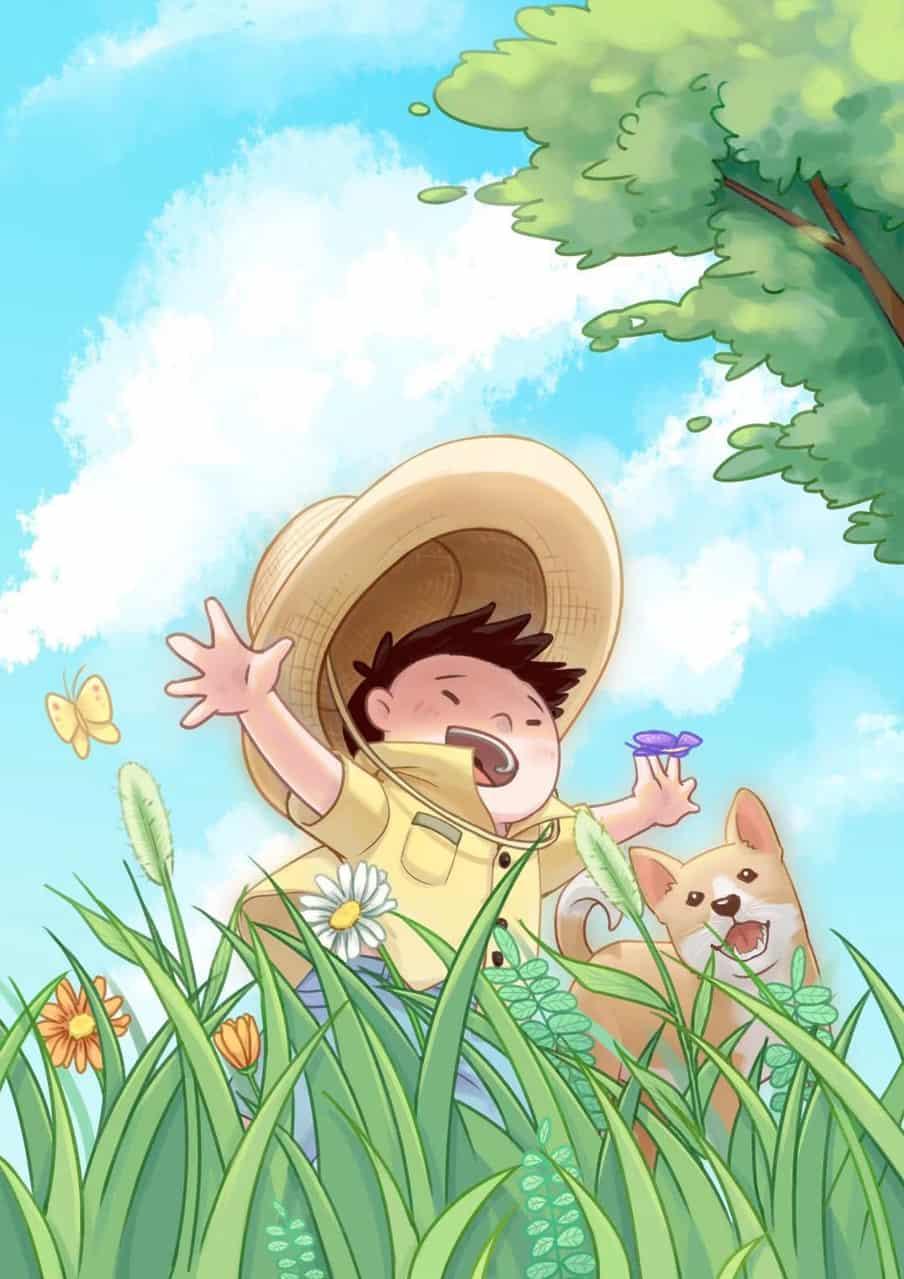 童趣 Illust of 天下萌生 DOGvsCAT_DOG