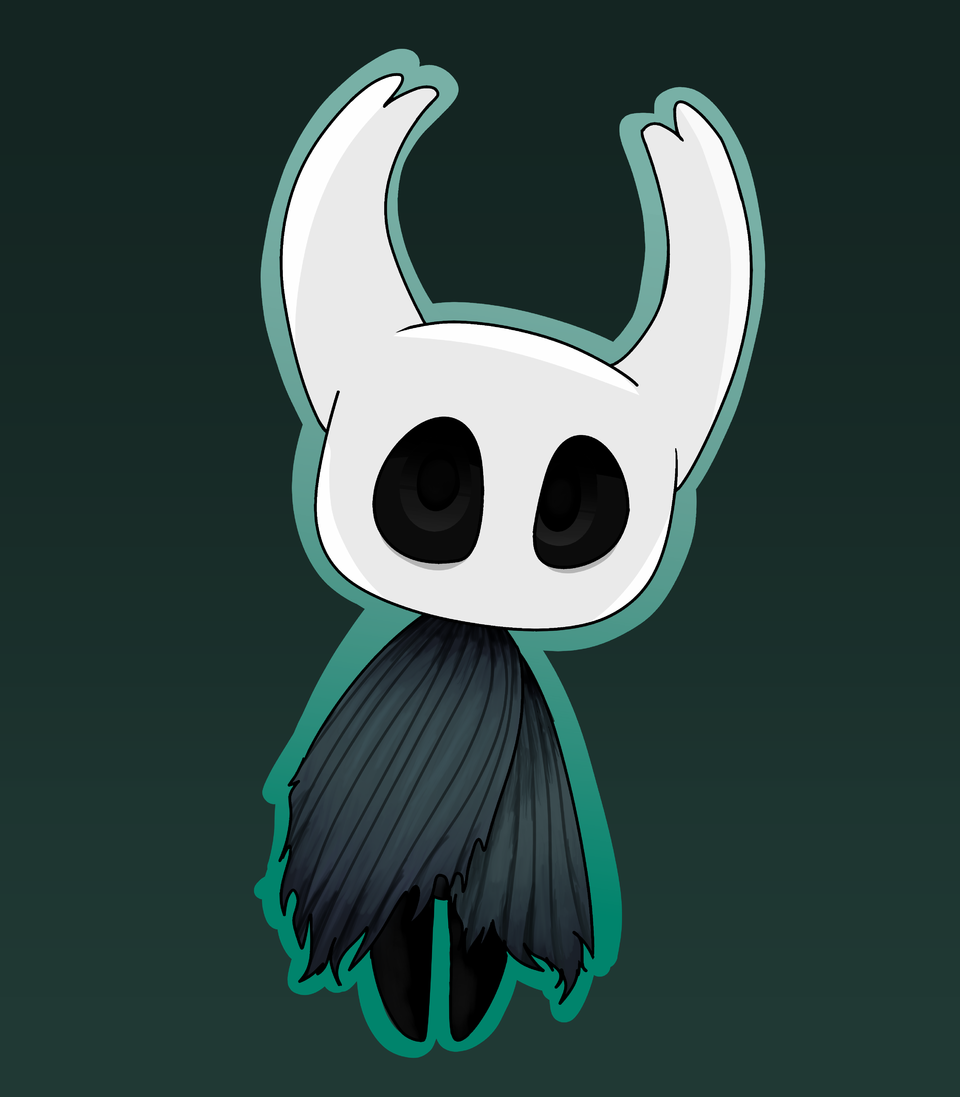 🚮  Illust of ❄Ash❄ medibangpaint cute Hollow_Knight trash knight hollow bullshit