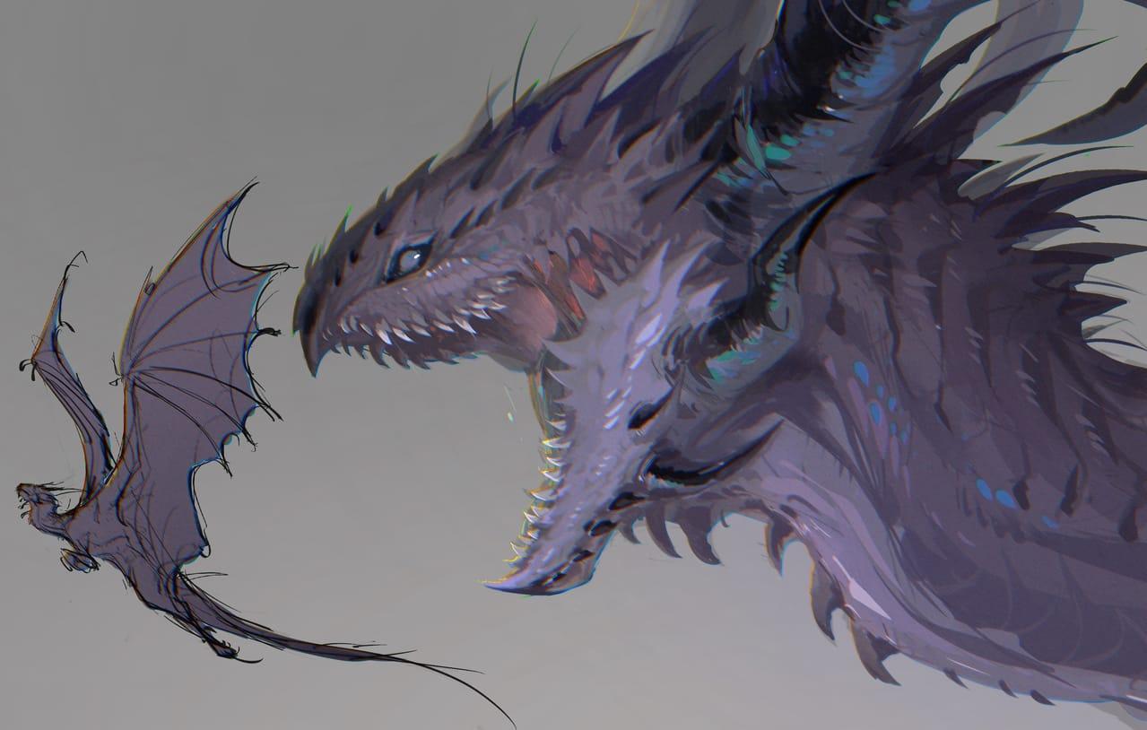 Dragon  Illust of 佳怡 CPoring March2021_Creature dragon