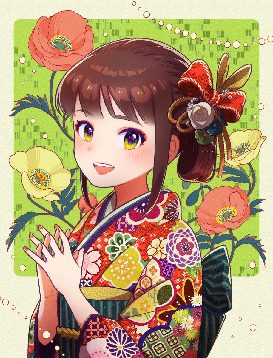 いつもより大人になる日 Illust of ナガラ Kyoto_Award2020_illustration kimono girl