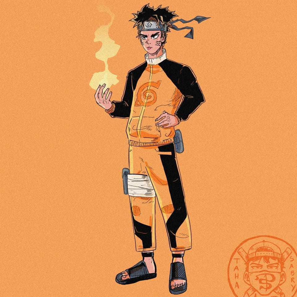 Naruto avatar Illust of taha sabry art NARUTO